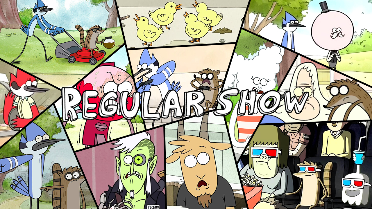 regular show wallpaper for android