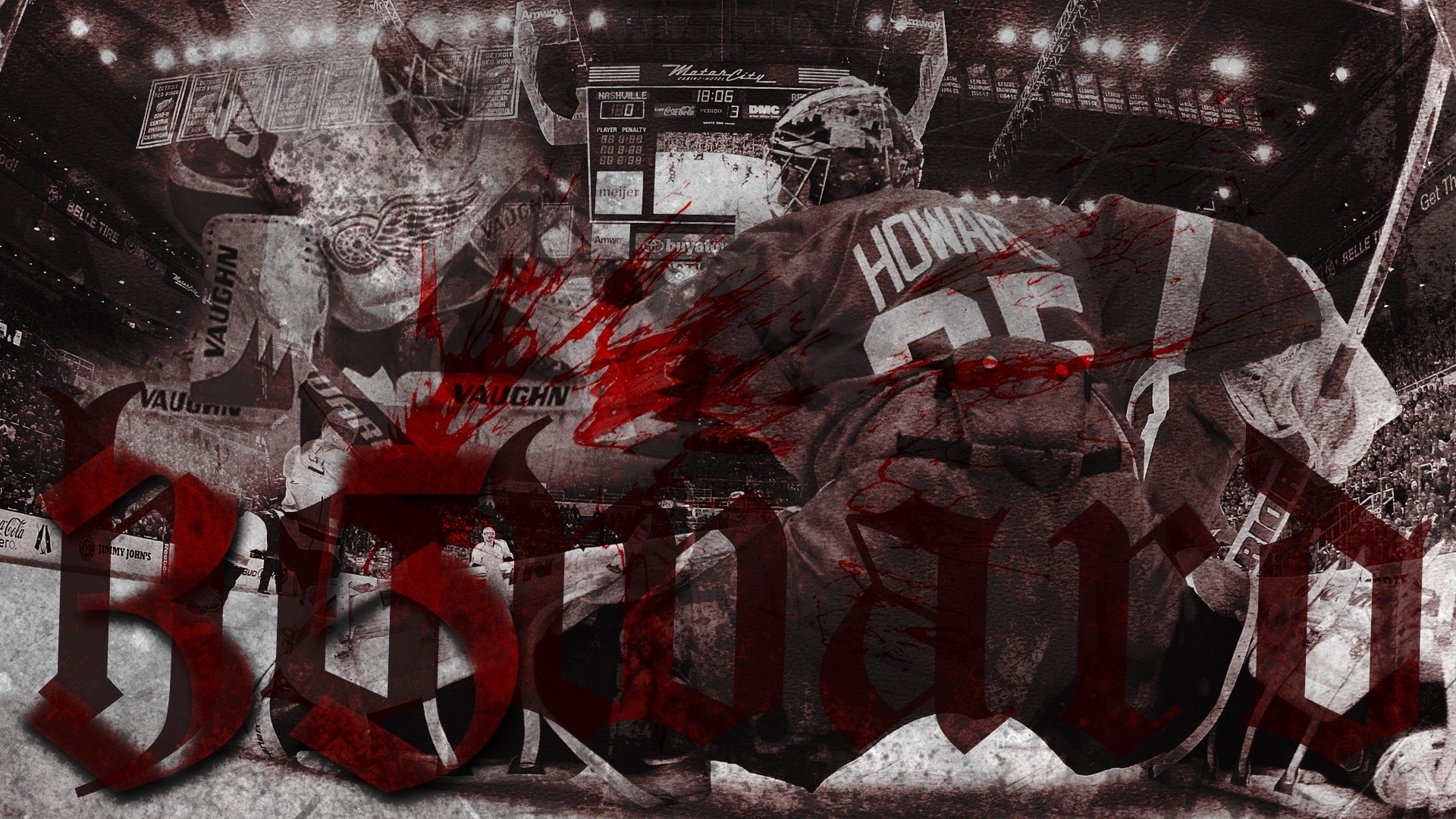 hockey detroit red wings goalie jimmy howard g wallpaper background 1920x1080