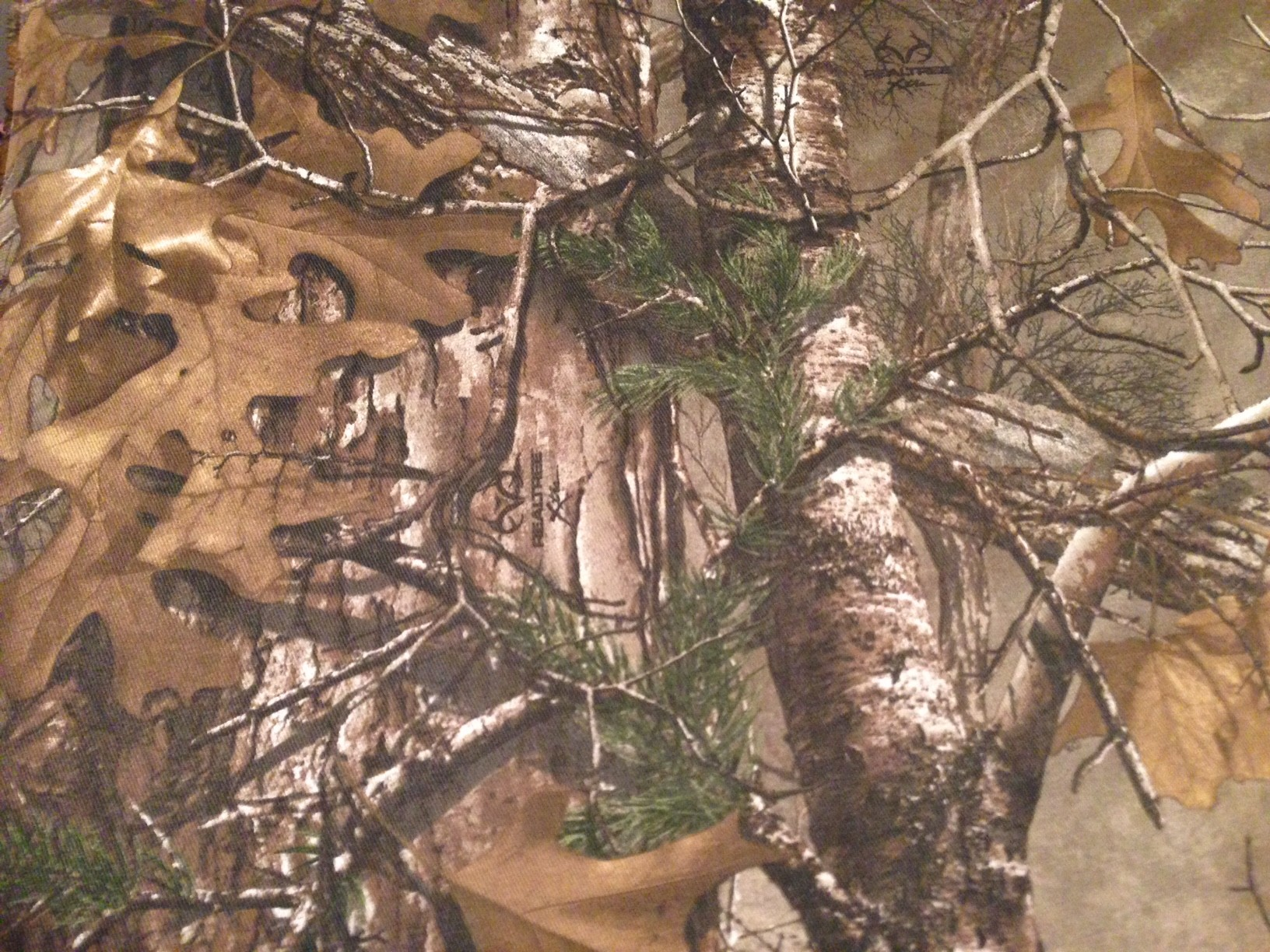 Realtree Xtra Camo Fabric PC Android iPhone and iPad Wallpapers 1632x1224