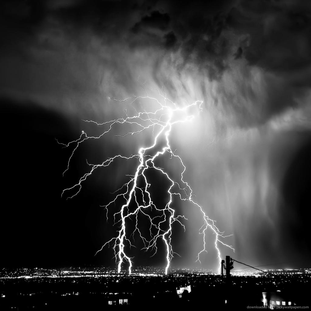 lightning wallpaper 1024x1024