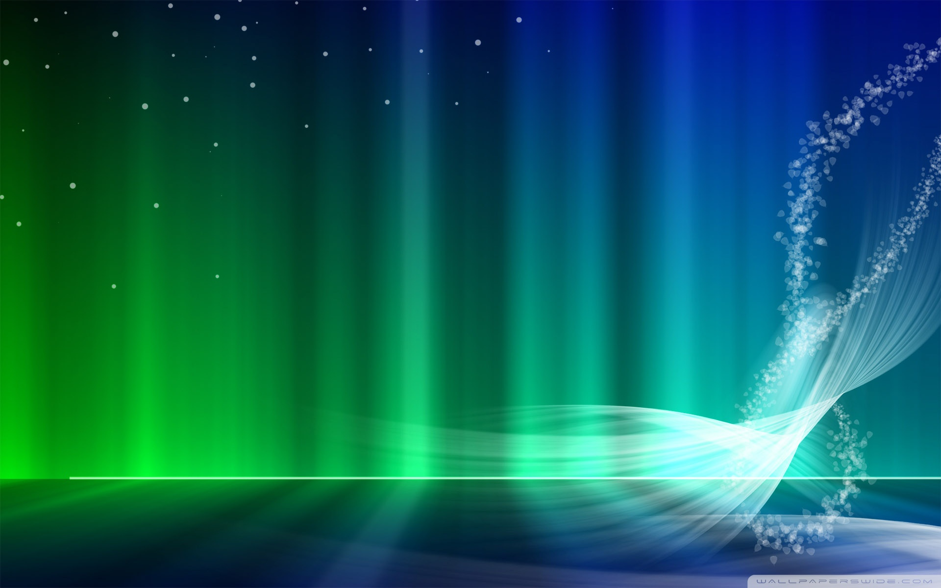 Vista Blue And Green Aurora 4K HD Desktop Wallpaper for 4K 1920x1200
