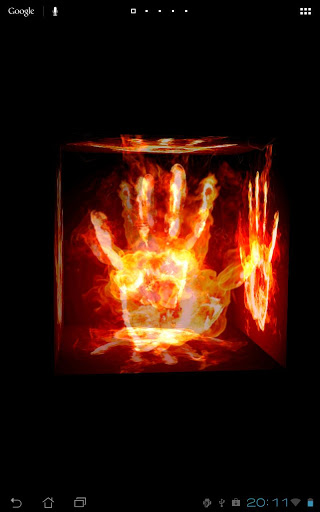 Fire Touch 3D Live Wallpaper 21   Android Games download 320x512