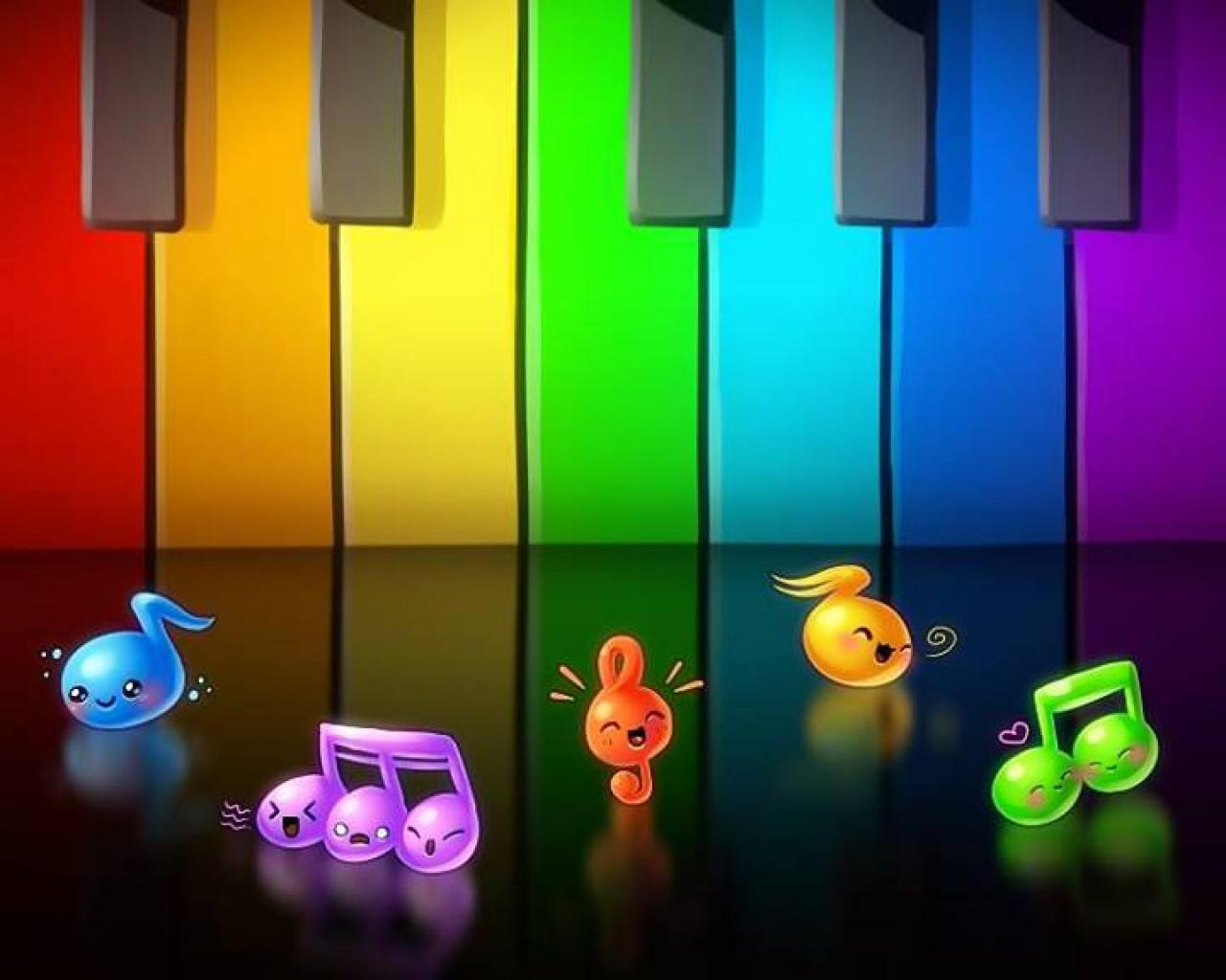 Cute Music Note Wallpaper - WallpaperSafari