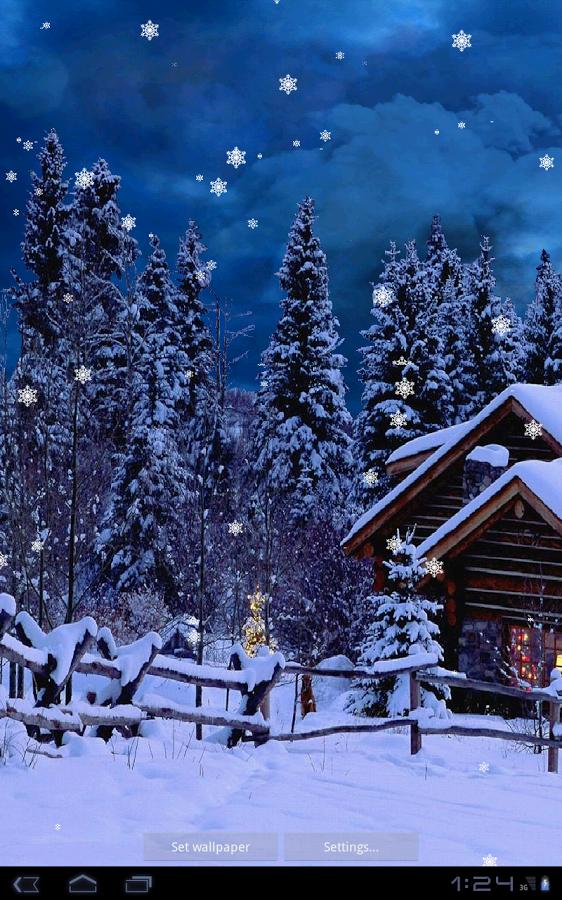 50+ Live Falling Snow Desktop Wallpaper on WallpaperSafari