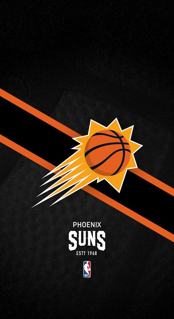 Phoenix Suns NBA iPhone XXS11Android Lock Screen Wall Flickr 559x1023