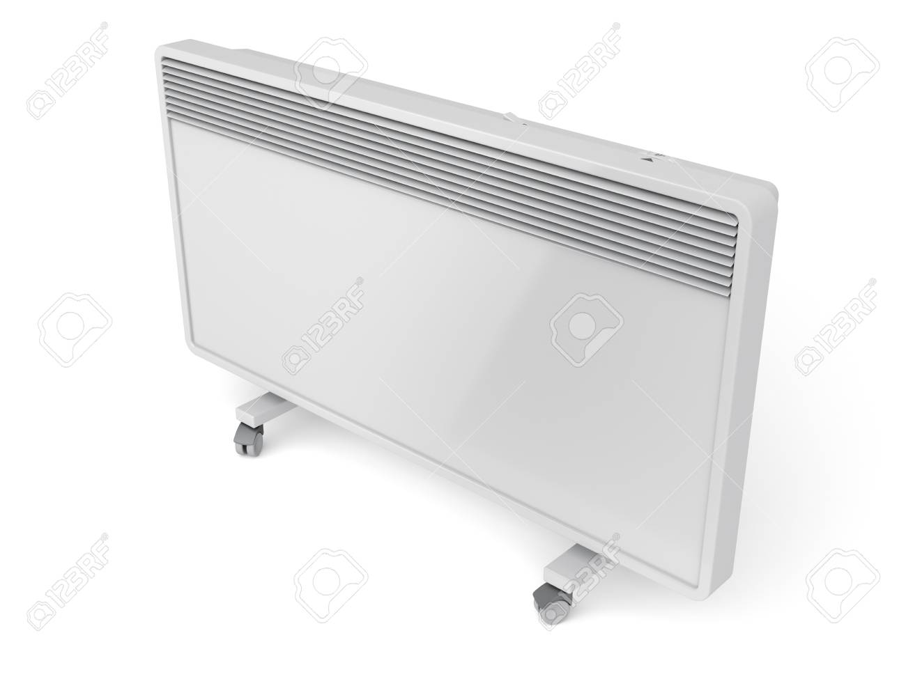 Mobile Convection Heater On White Background Stock Photo Picture 1300x975
