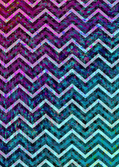 Zig Zag Chevron Pattern by Medusa81 Redbubble 393x550
