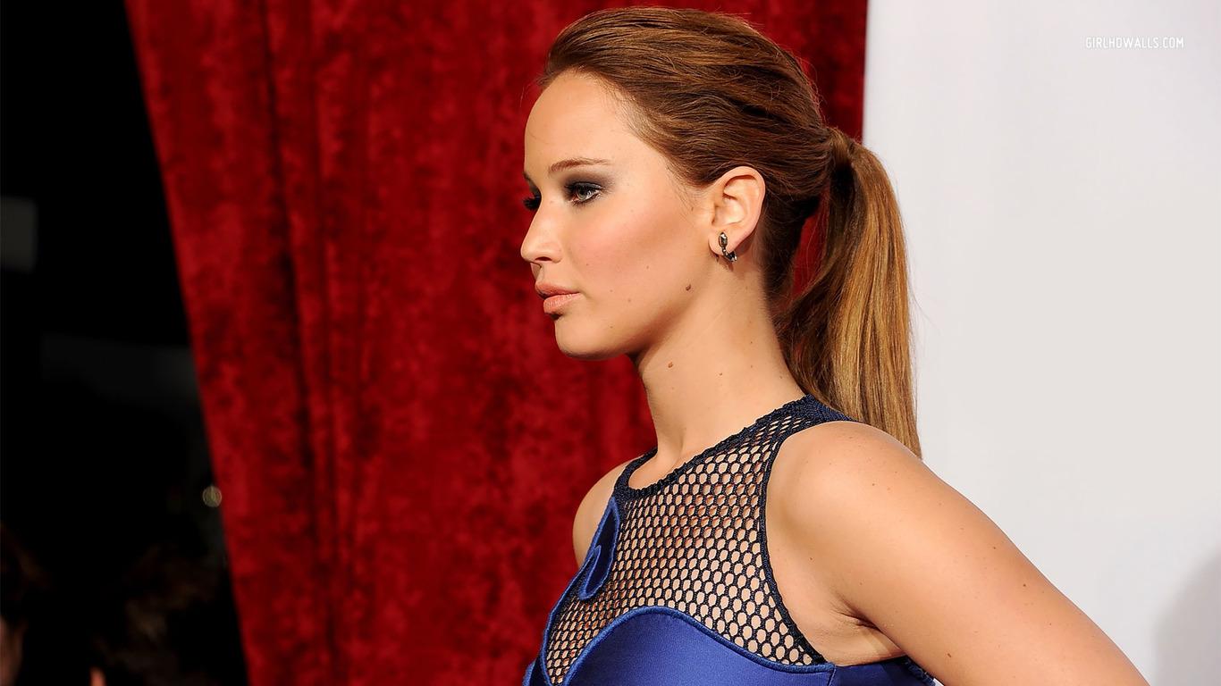 Jennifer Lawrence Latest 2014 HD Wallpaper   Stylish HD Wallpapers 1366x768