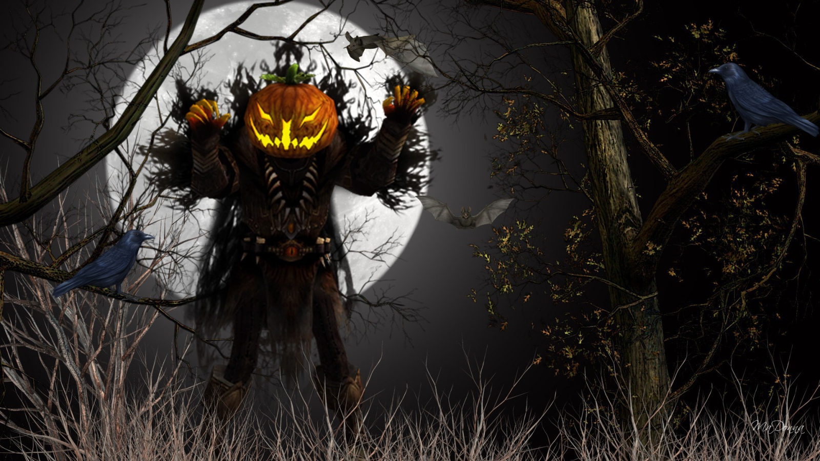 Halloween Ghost Wallpaper Halloween Holidays (61 ...