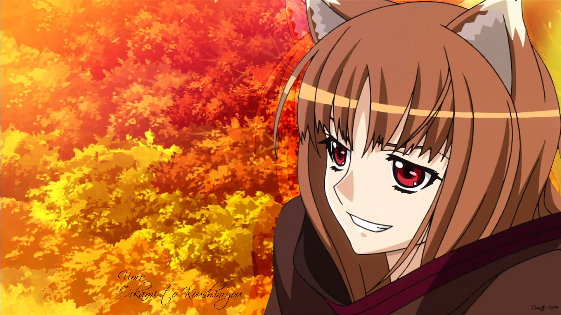 36 Spice And Wolf Wallpaper Hd On Wallpapersafari