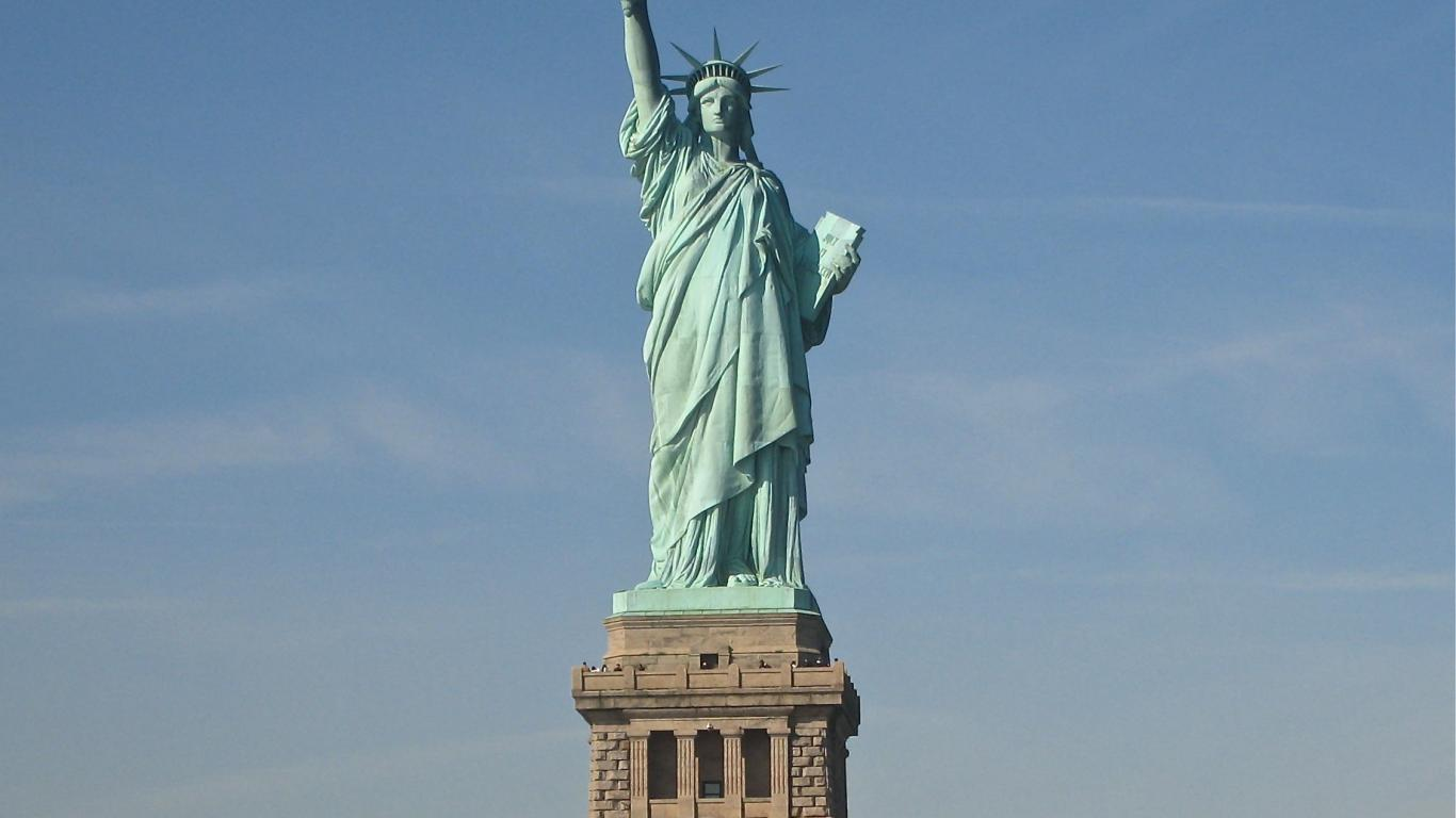 HD Wallpapers Desktop Wallpapers Statue of Liberty wallpapers 1366x768