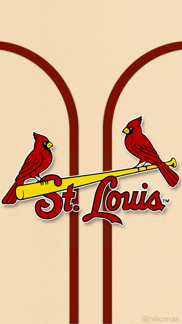 My new iPhone wallpaper St Louis Cardinals Baseball Pinterest 640x1136