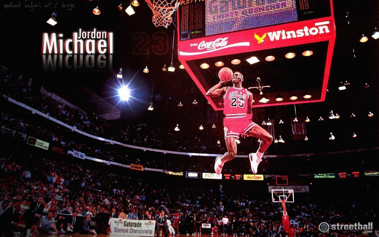 Michael Jordan Dunk Wallpapers 1280x800