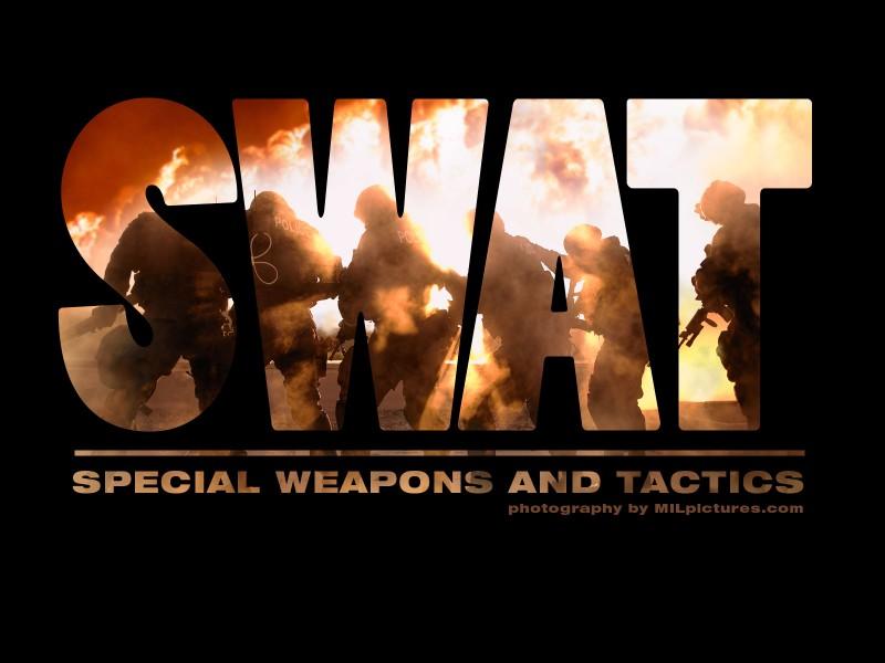 SWAT wallpaper 800x600