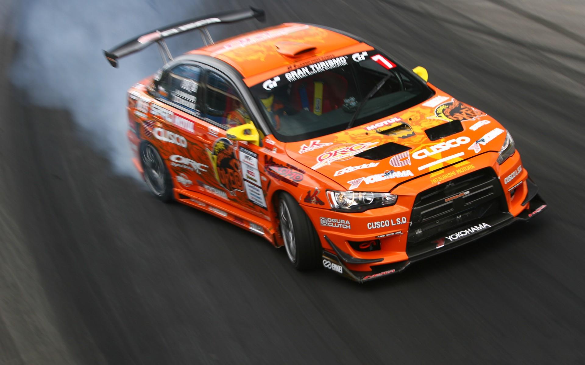 cars vehicles formula drift mitsubishi lancer evolution x wallpaper 1920x1200