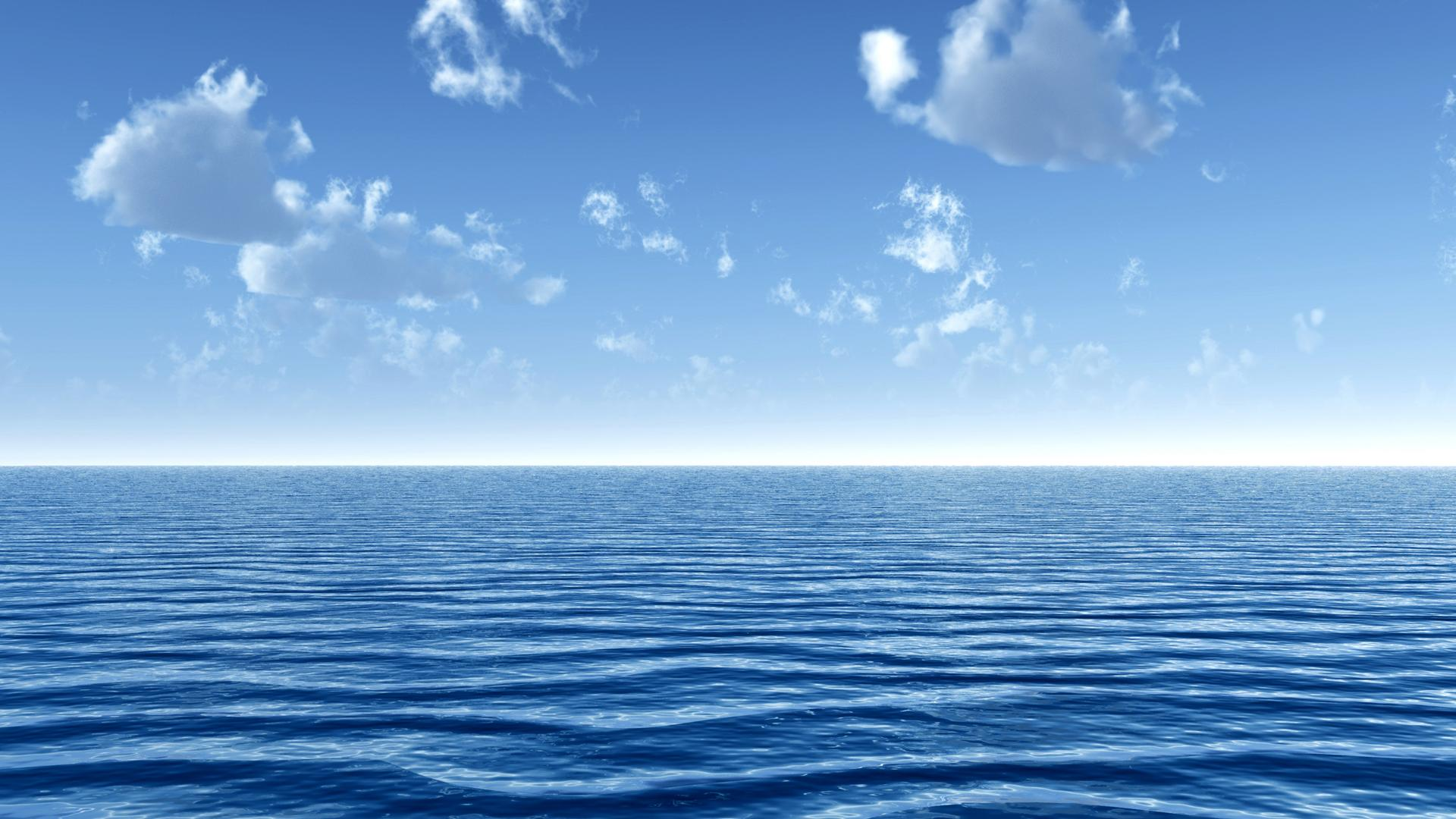ocean water clouds wow nature 1920x1080