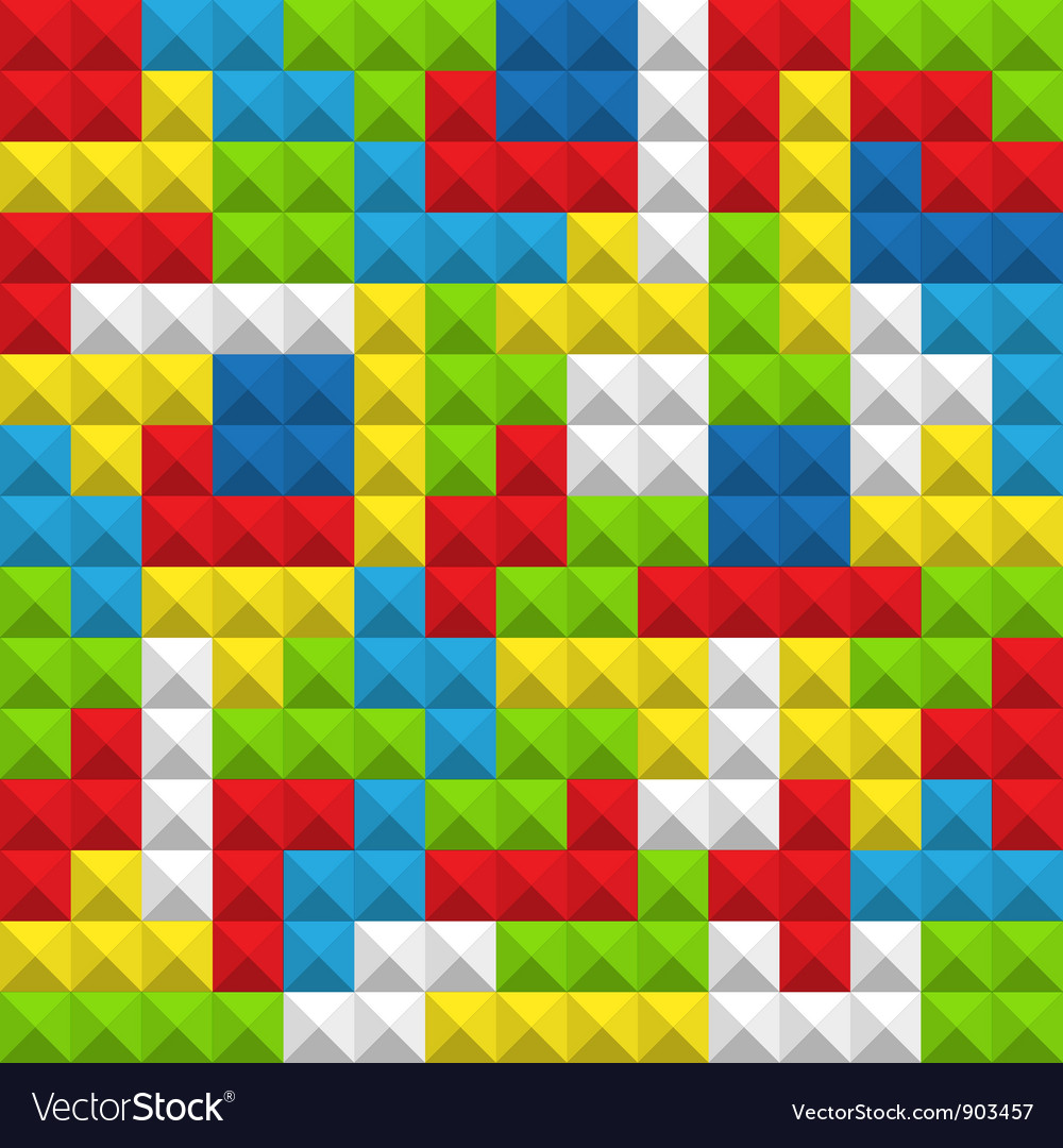 Seamless background color blocks Royalty Vector Image 1000x1080