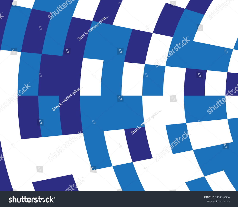 Desktop Wallpaper Abstract Blue White Geometric Stock Vector 1500x1300