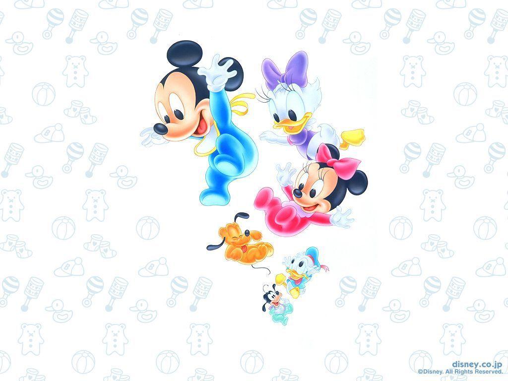 Baby Disney Characters Wallpaper - WallpaperSafari