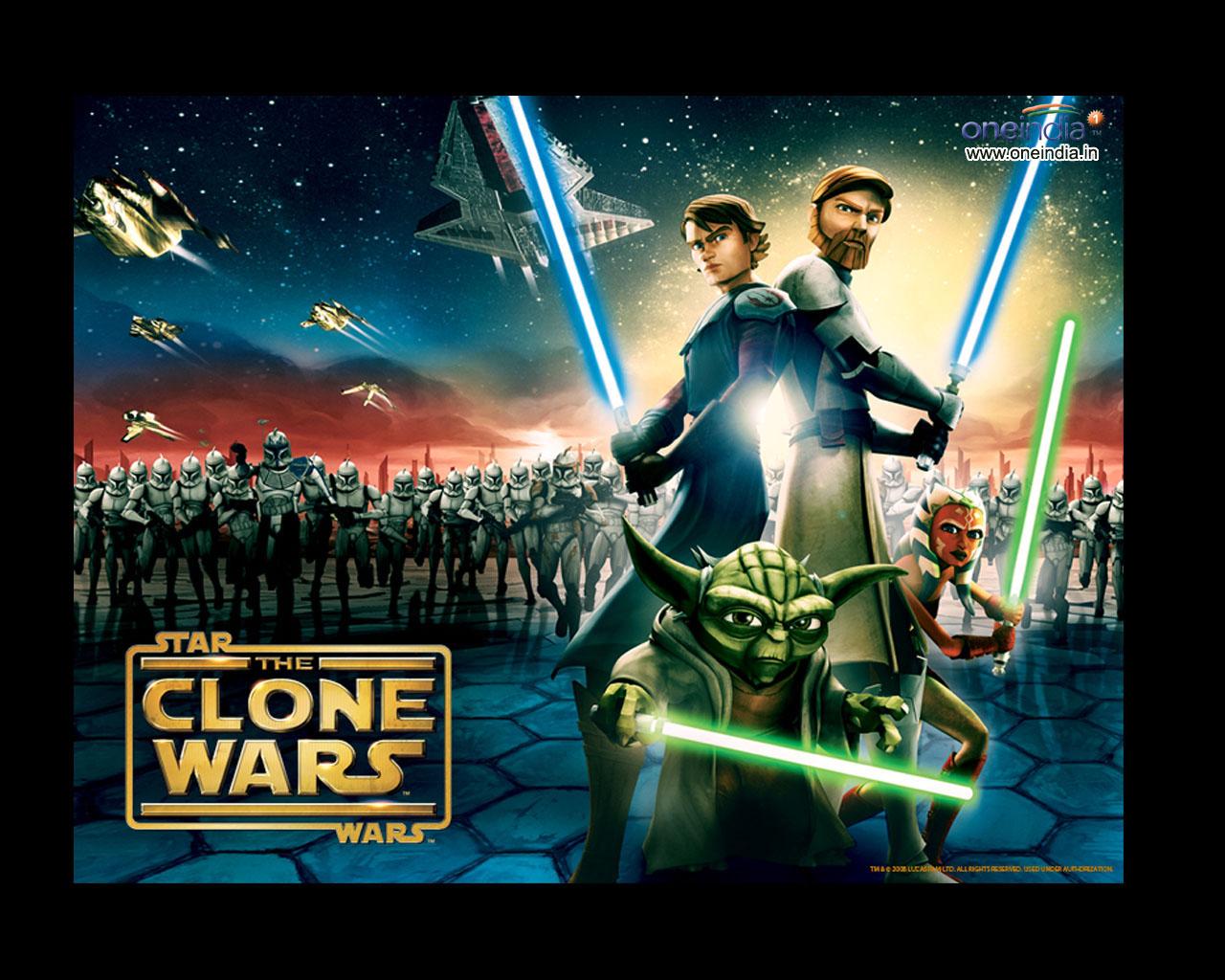 STAR WAR WALLPAPER Star Wars The Clone Wars 1280x1024