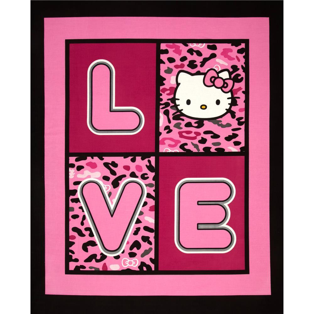 Kitty pink wallpaper dark hello Best 39+