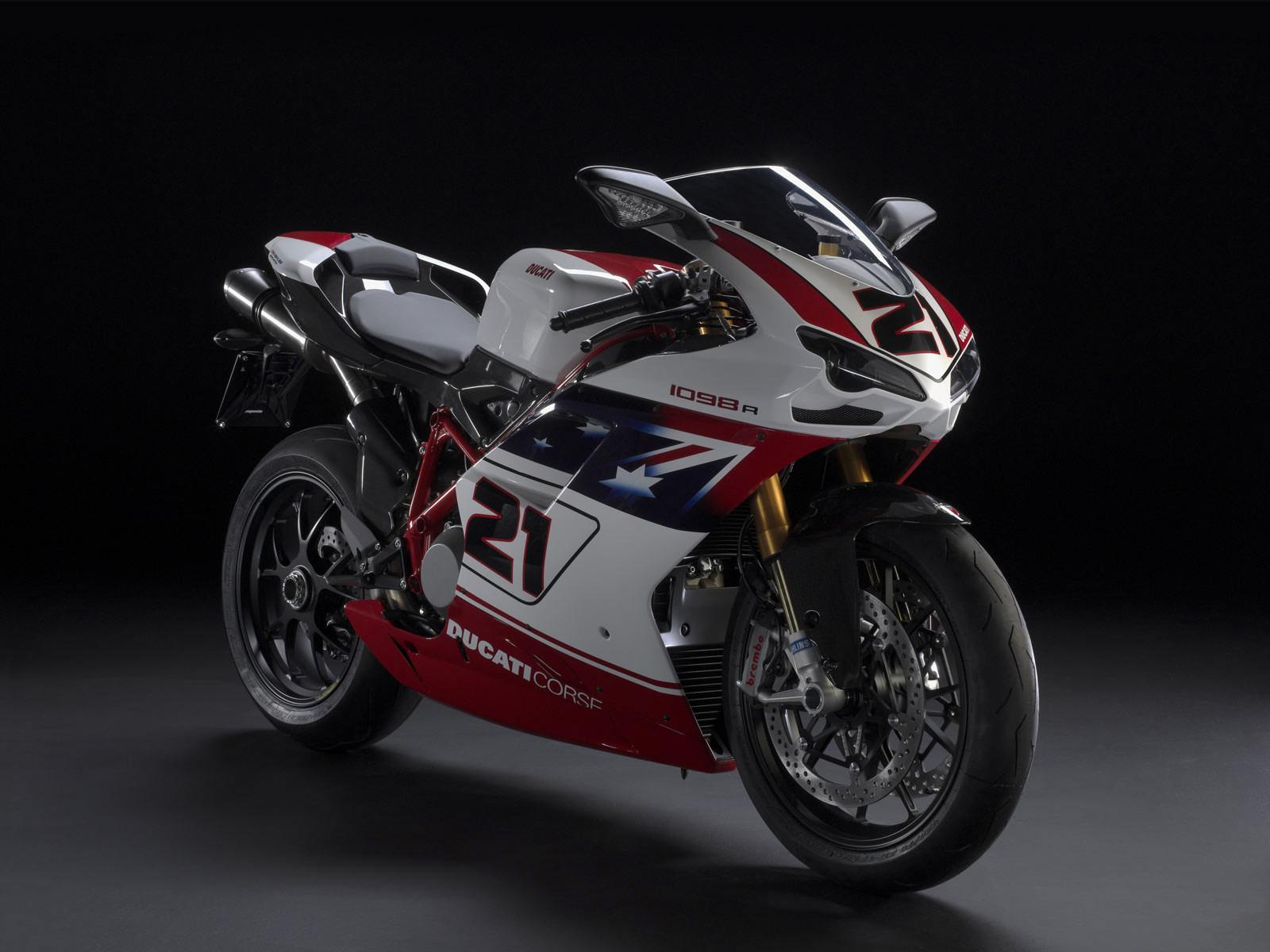 DUCATI Motorcycle Desktop Wallpaper 1098R Bayliss LE 2009 1600x1200