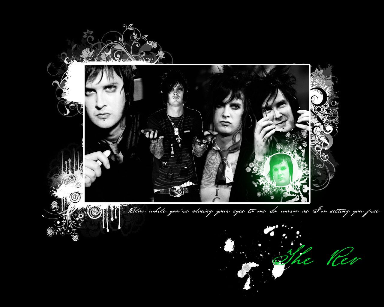 a7x the rev wallpaper Avenged Sevenfold Avenged sevenfold The 1280x1024