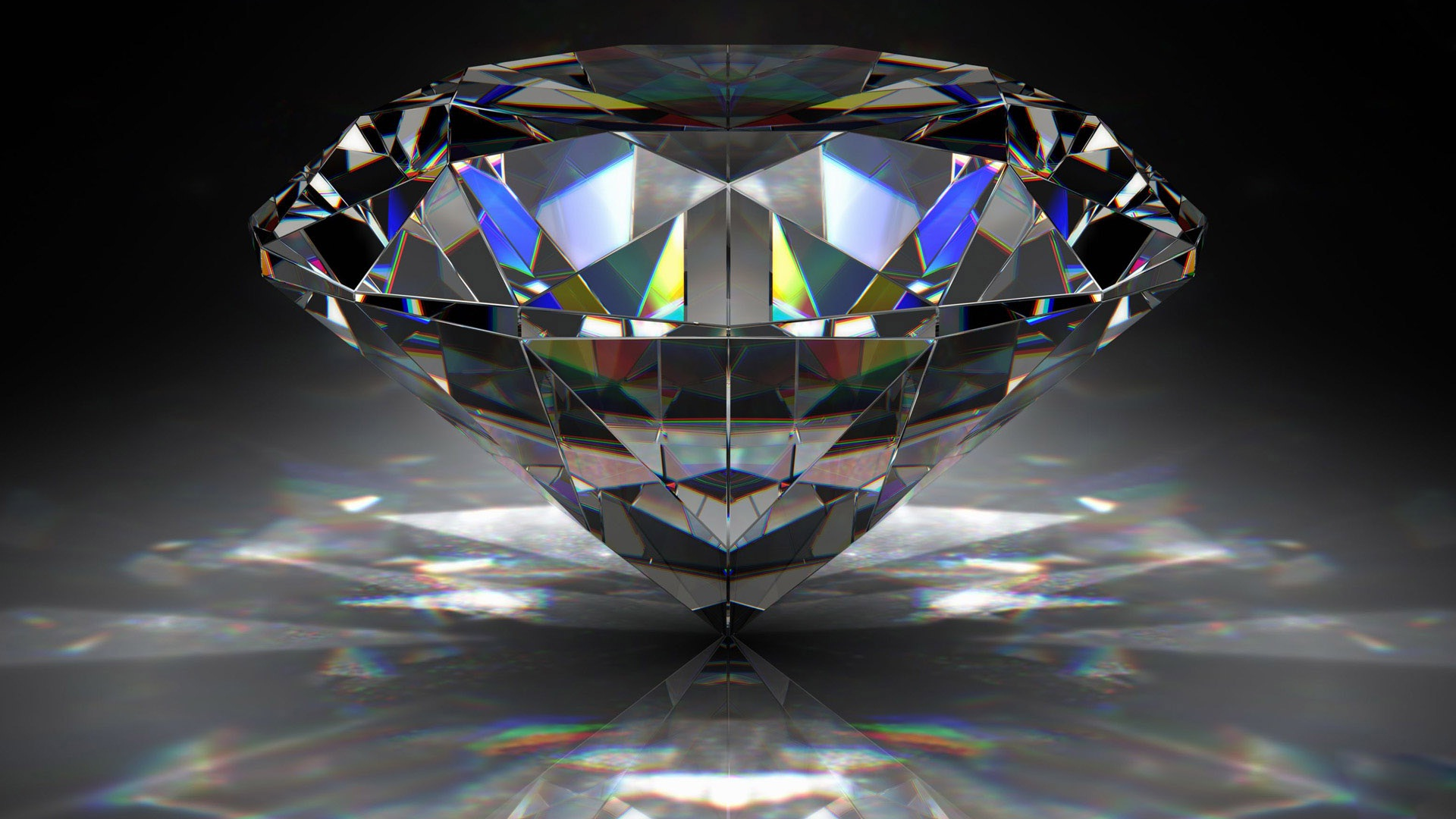 Massive diamond 3D wallpaper HD Wallpapers Rocks 1920x1080