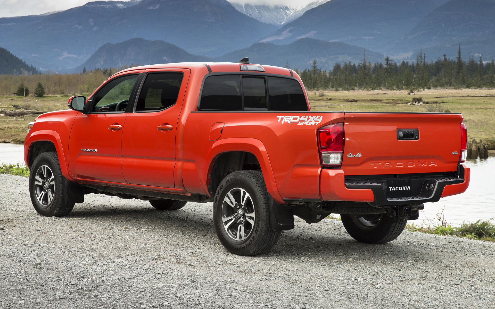 Toyota Tacoma TRD Sport Double Cab 2016 Wallpapers and HD Images 1920x1200