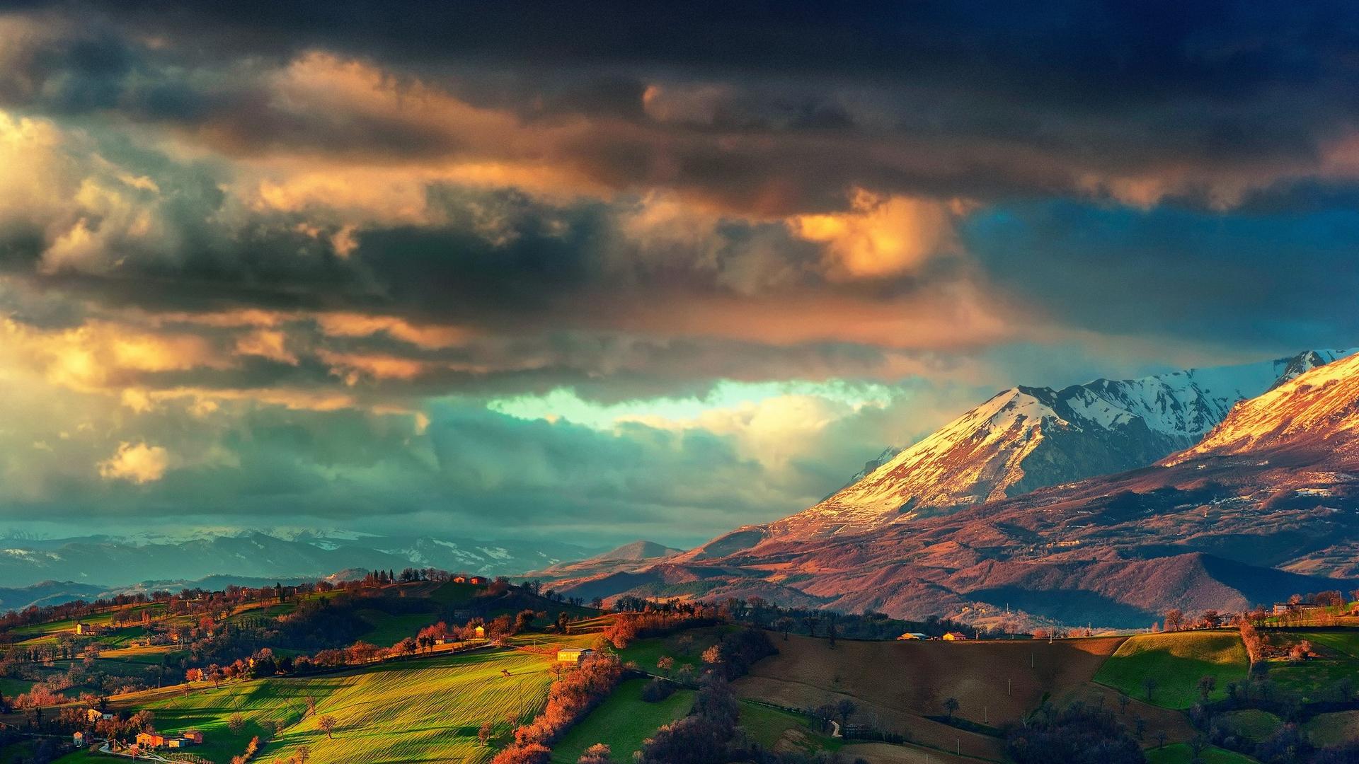 Vivid landscapes Wallpaper HD Wallpapers 1920x1080