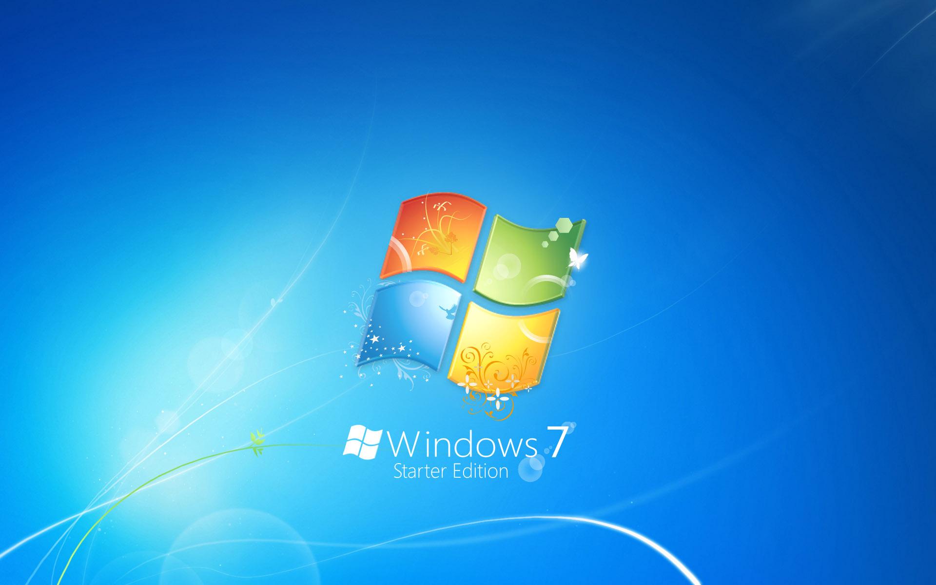 Hd wallpaper windows 7 - Windows 7 Starter Edition Wallpapers Hd Wallpapers
