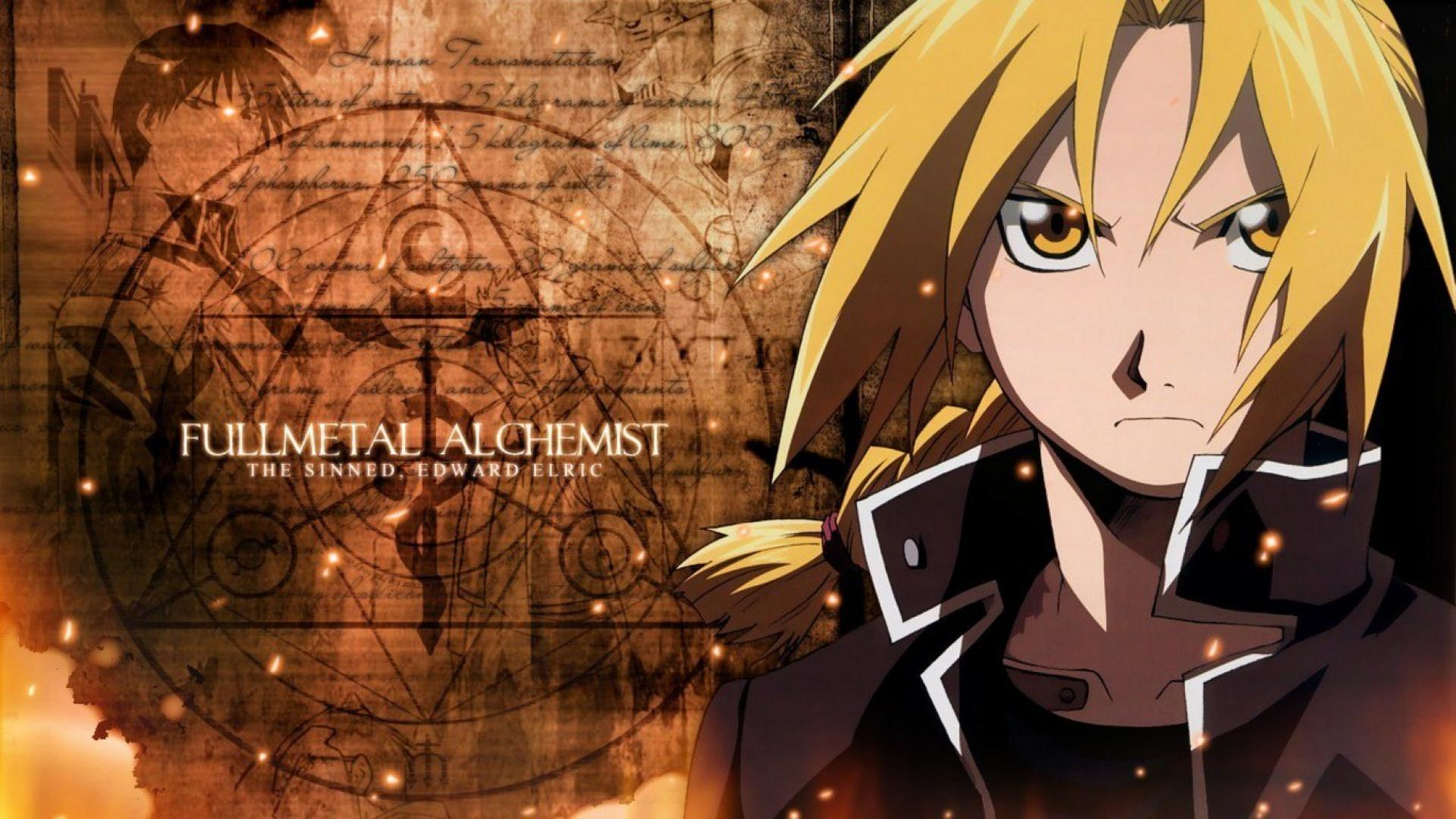 Fullmetal alchemist wallpaper 1366x768 HQ WALLPAPER   25526 1920x1080