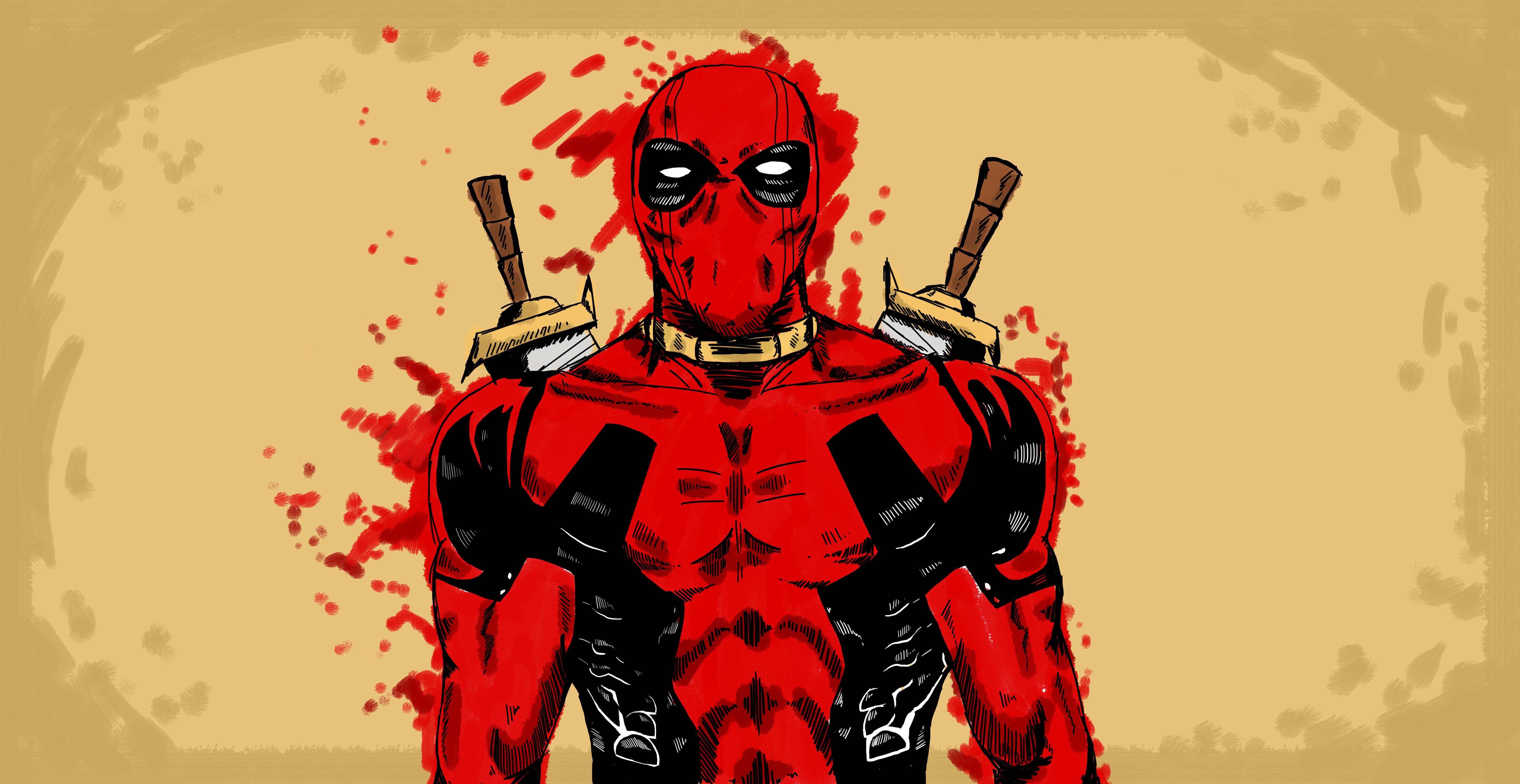 Deadpool movie HD Wallpapers download 5745x2964