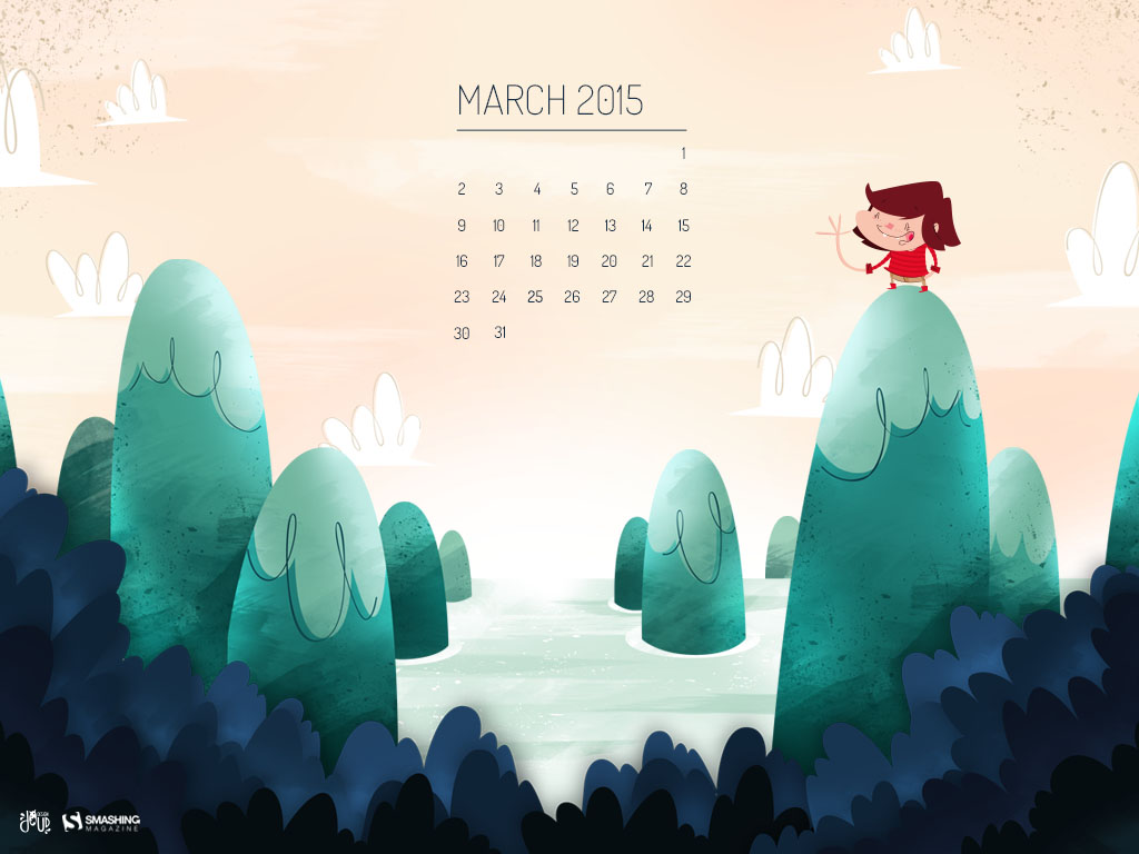 Desktop Wallpaper Calendars March 2015 Smashing Magazine 1024x768