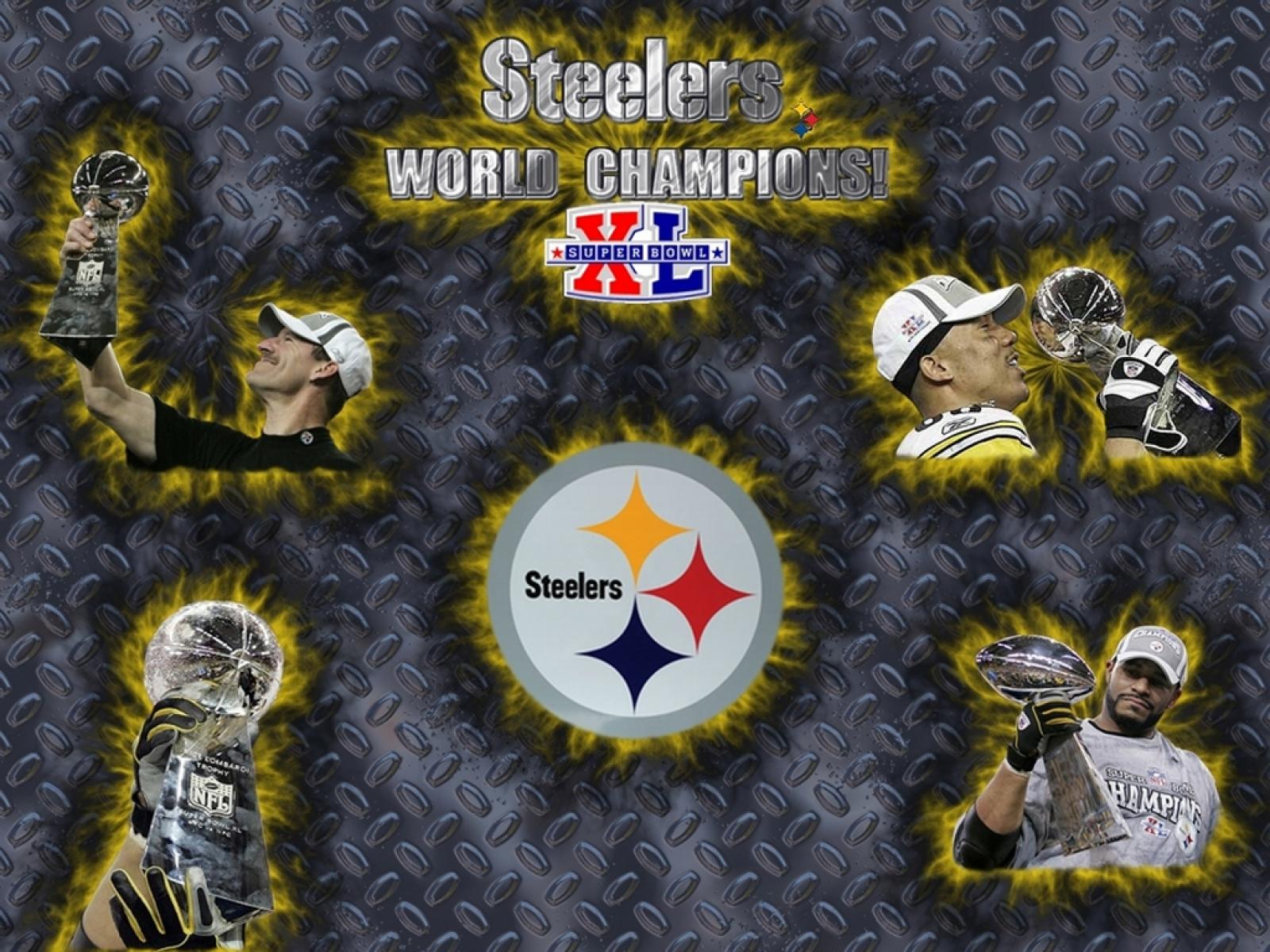 Steelers world champions wallpaper by wallpaperistcom 1600x1200