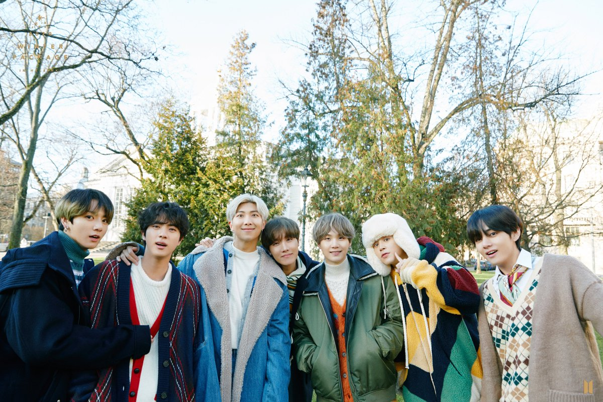 BTS official on Twitter BTS 2020 WINTER PACKAGE Preview Cuts 1200x800