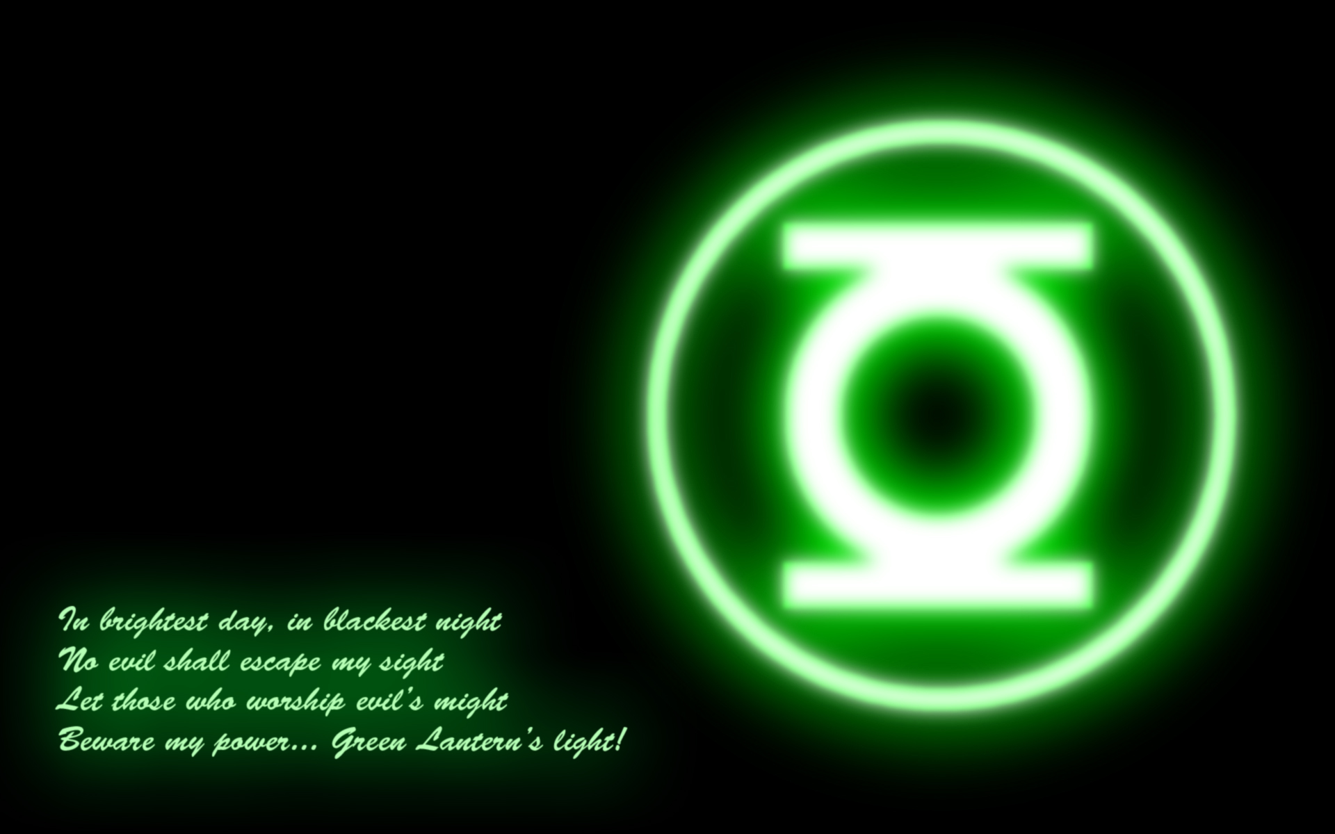 Green Lantern Computer Wallpapers Desktop Backgrounds 1920x1200 1920x1200