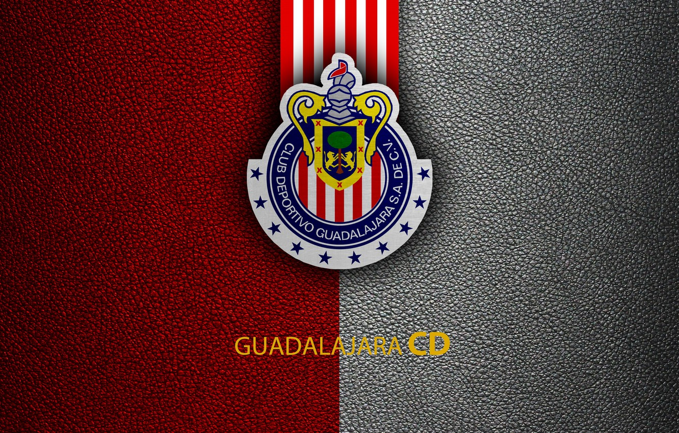 Wallpaper wallpaper sport logo football CD Guadalajara Chivas 1332x850