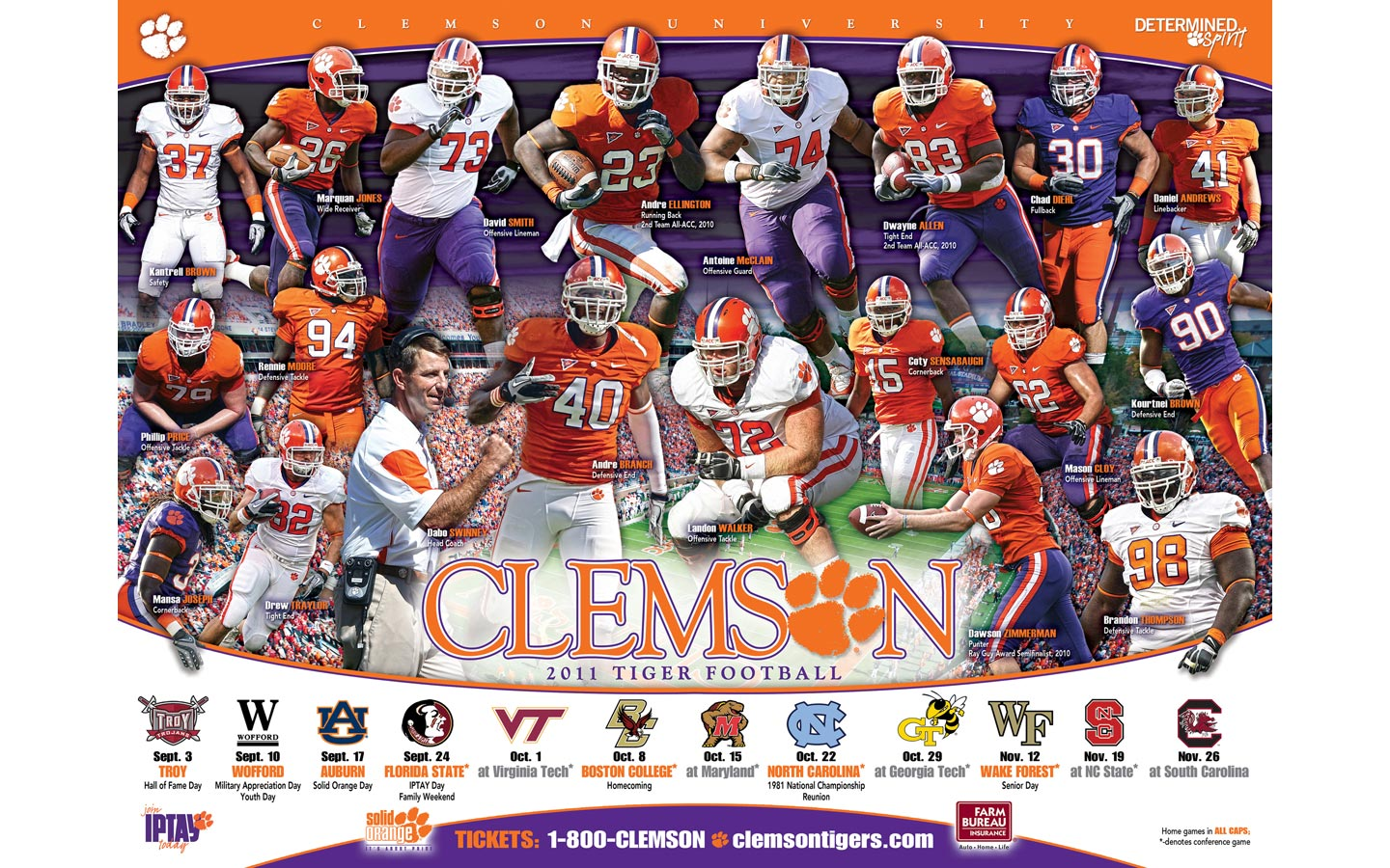 Clemson Football Background College football is most 1440x900