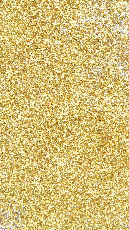 Gold Glitter Phone Wallpaper iPhone wallpaper Pinterest 500x888