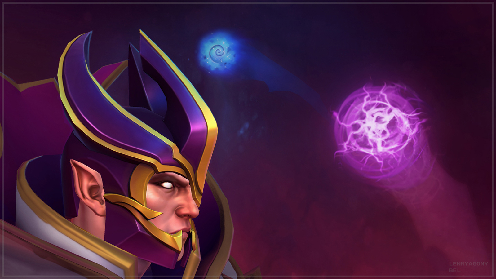 invoker dota 2 game hd wallpaper 1600x900 original full resolution and 1600x900