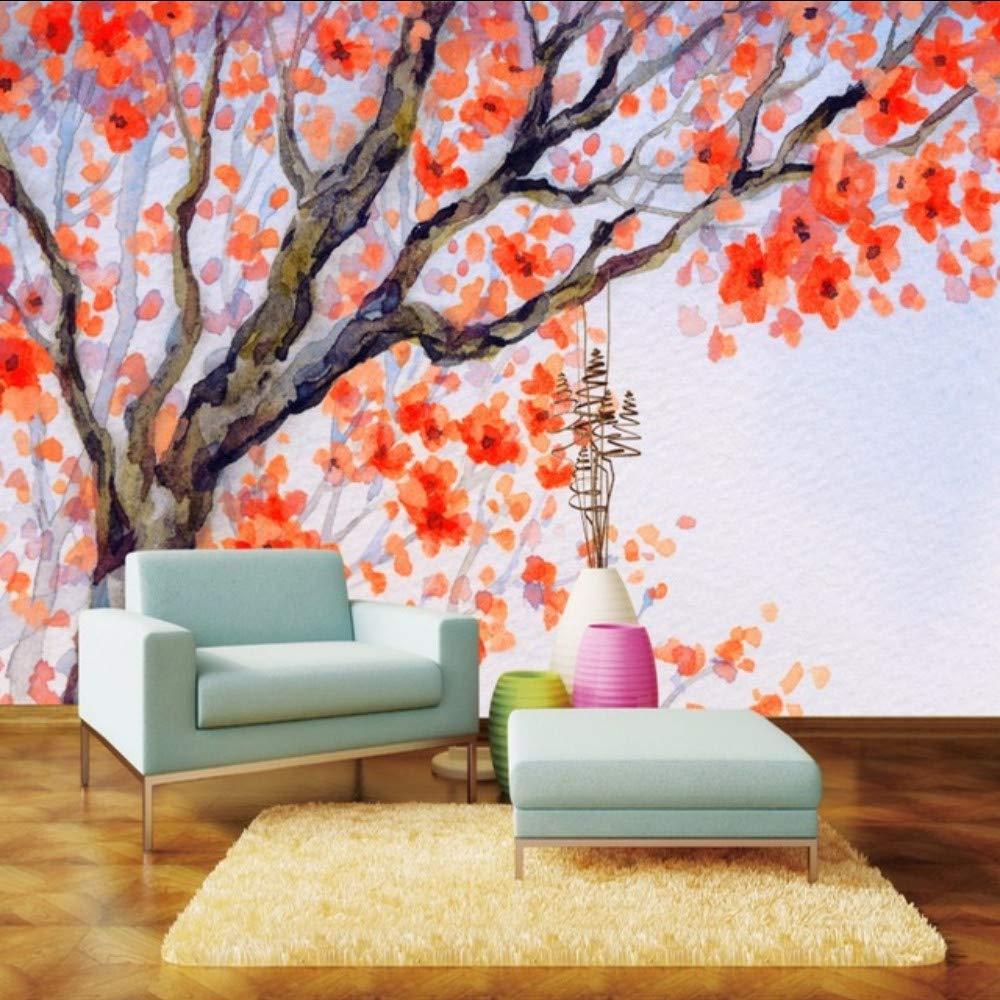 Amazoncom Dalxsh Custom Mural Wallpaper Art Watercolor Hand 1000x1000