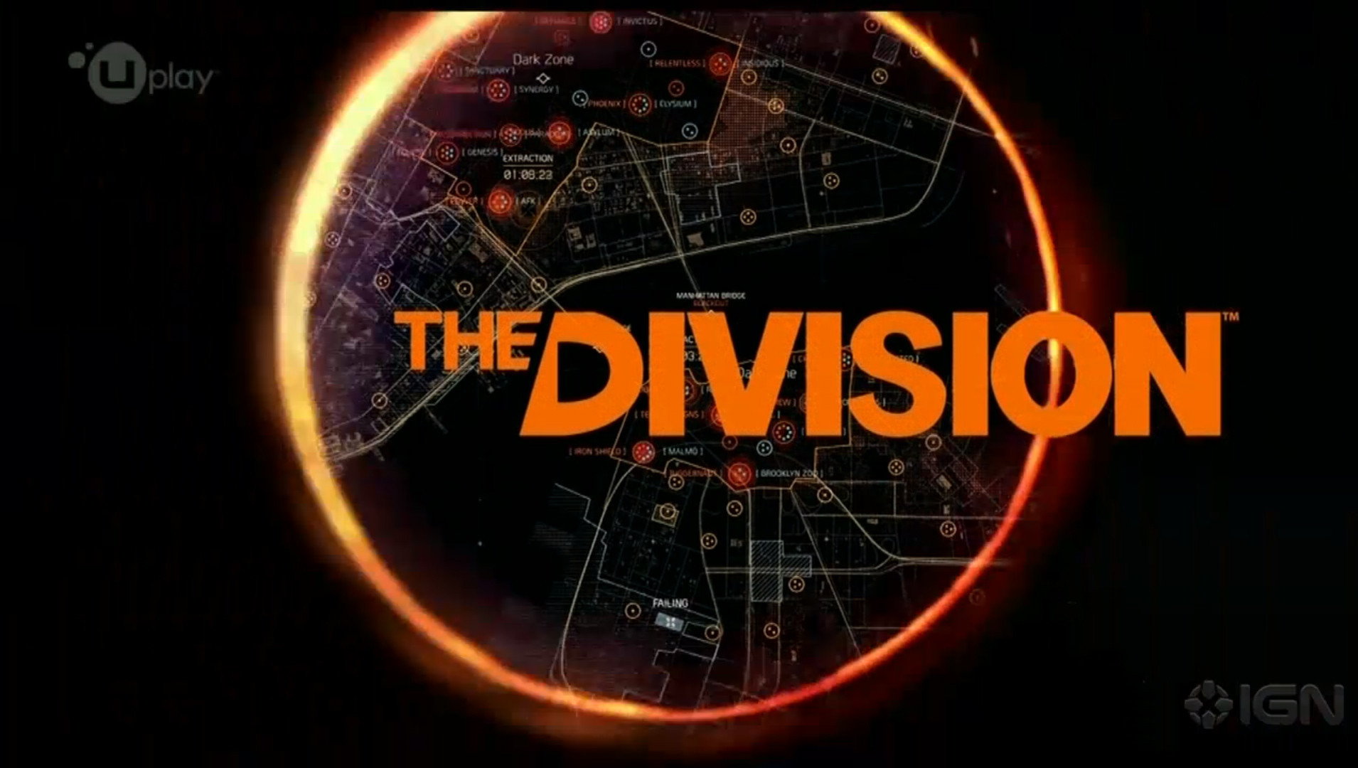 Tom Clancys The division city map wallpapers and images   wallpapers 1910x1080