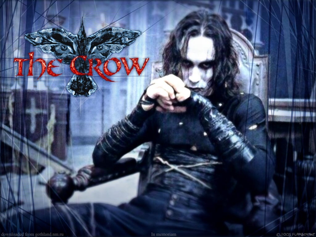 49 The Crow Wallpapers On Wallpapersafari