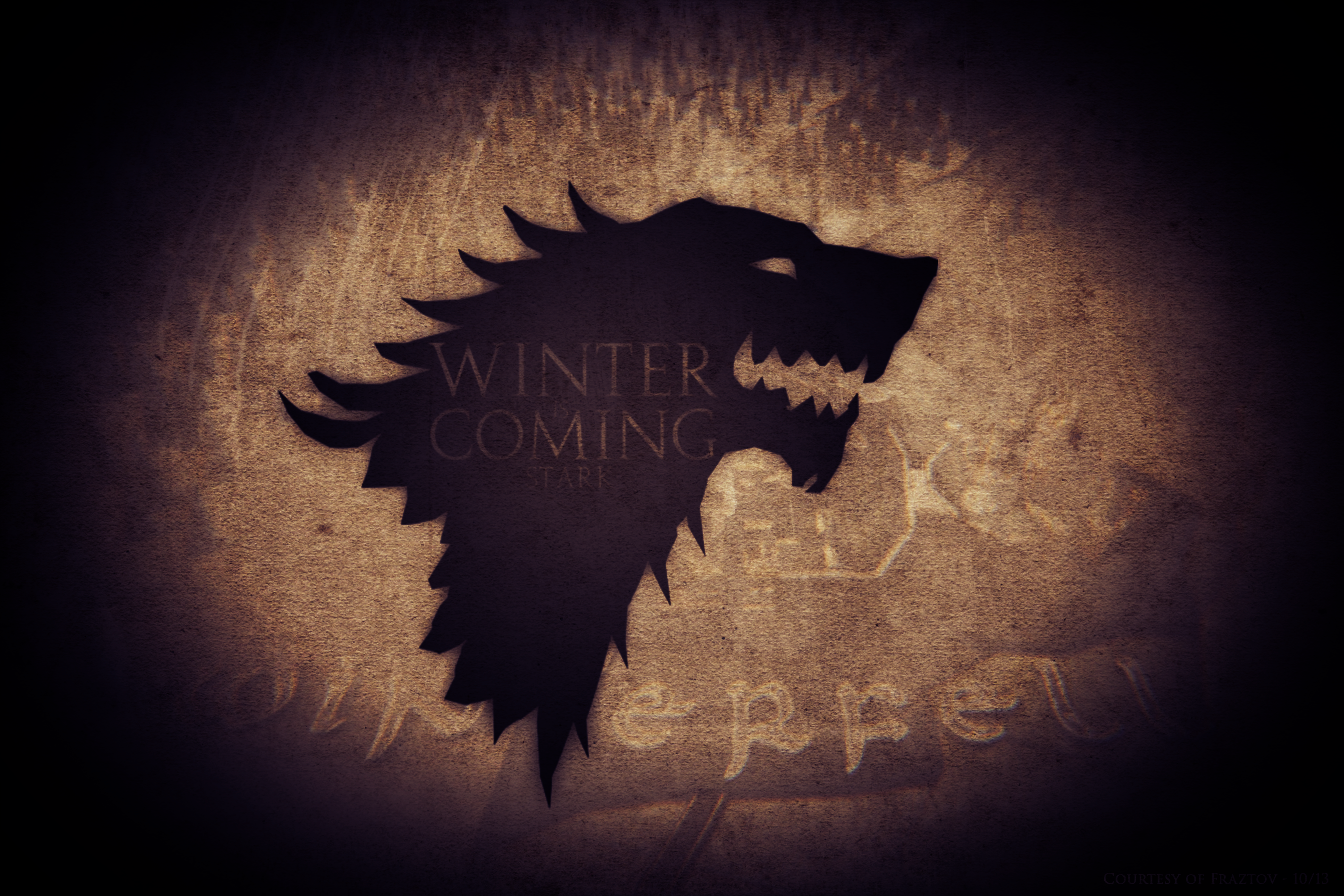 Game of Thrones   Stark Wallpaper by Fraztov 2848x1900