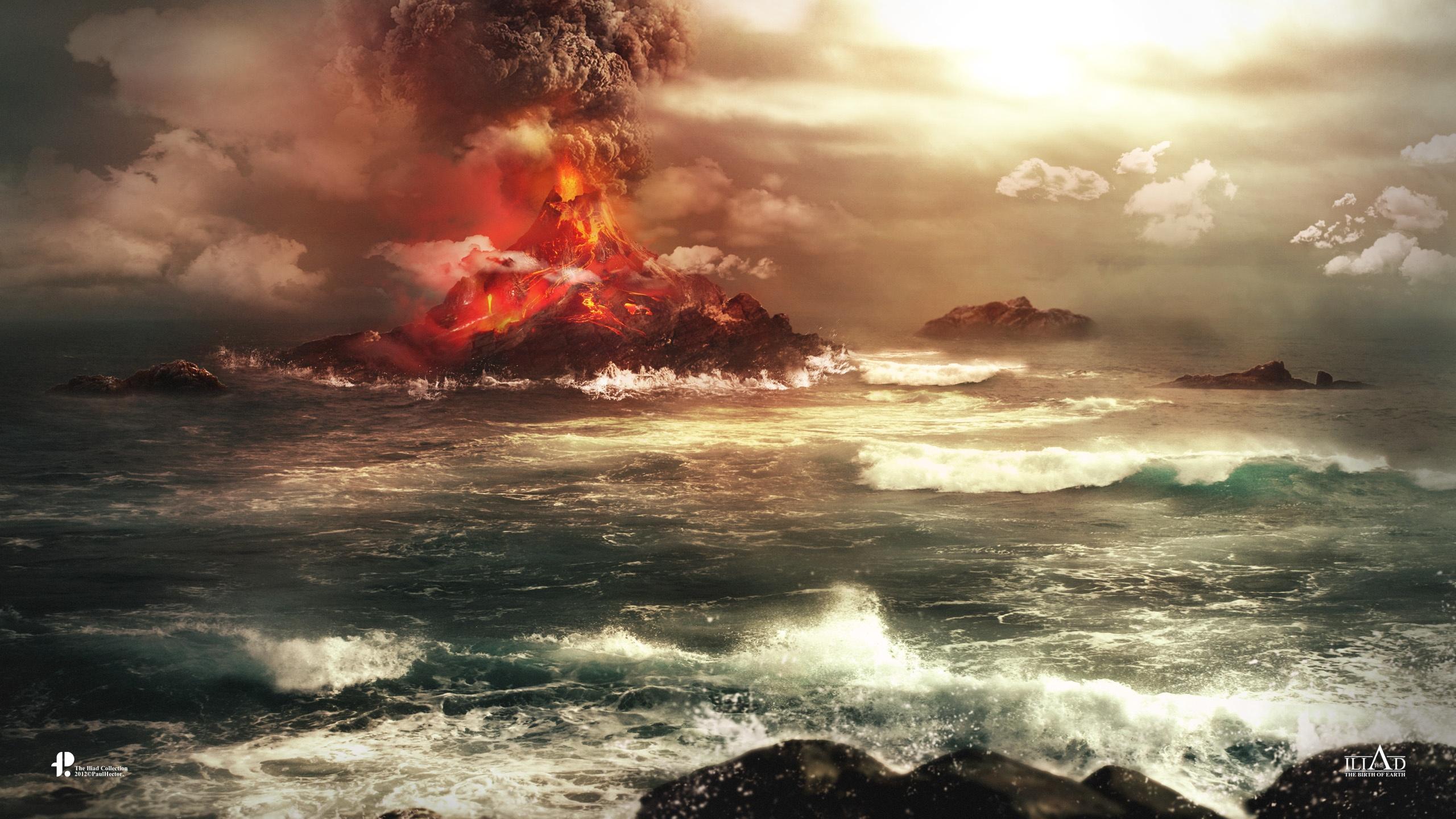 Volcano Wallpapers HD Wallpapers 2560x1440