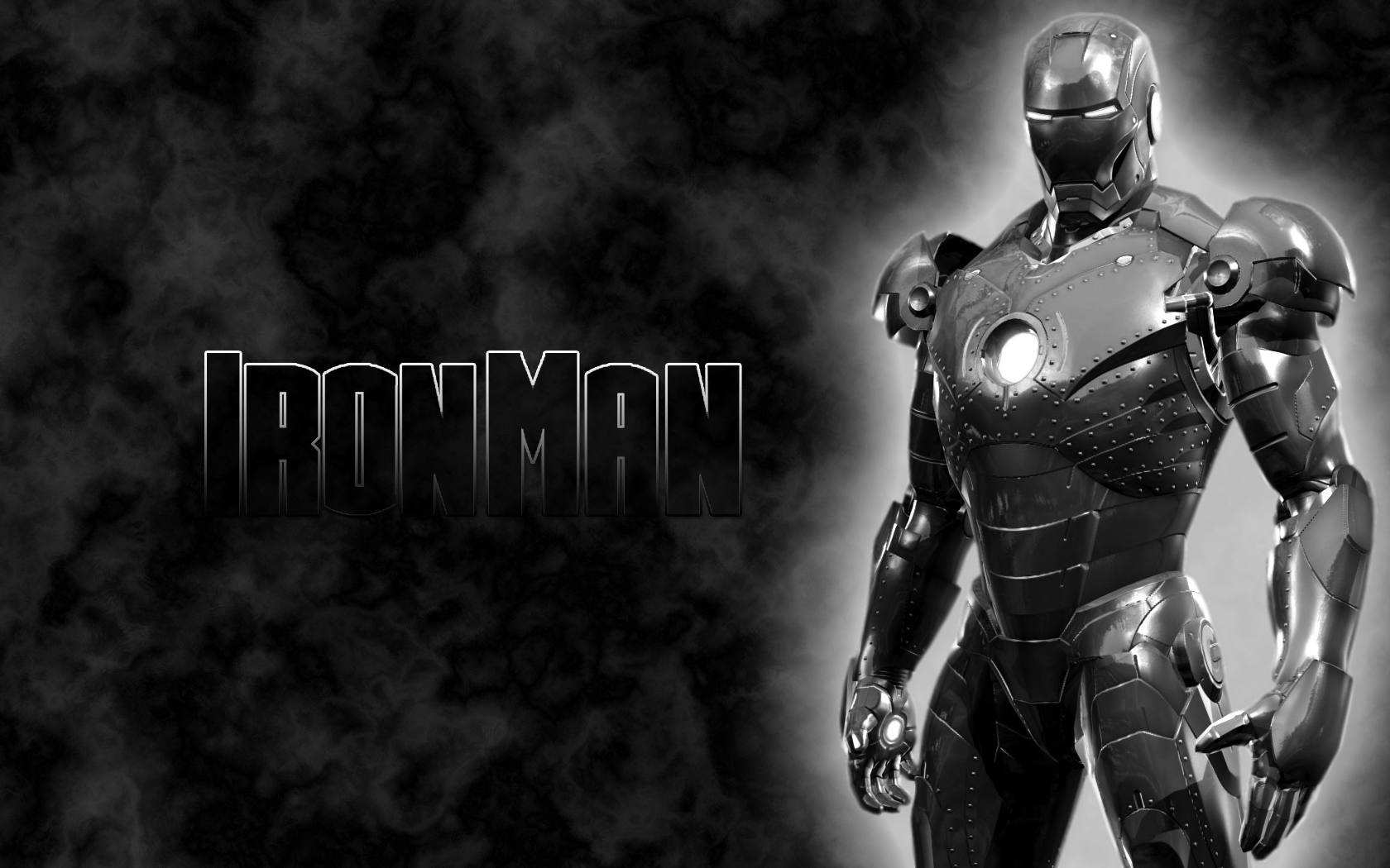 iron man mark II dark by jambel 1680x1050