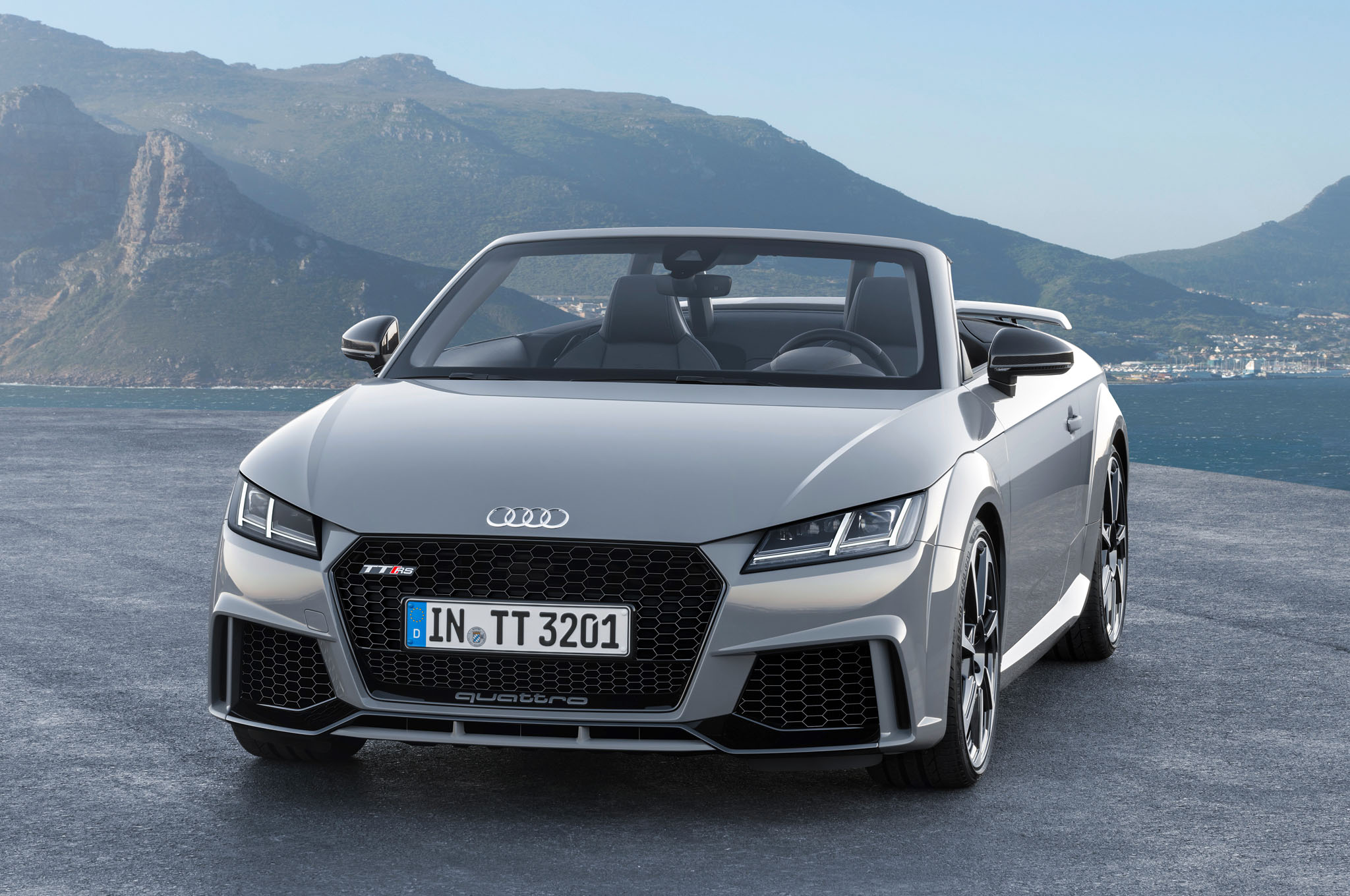 2017 Audi TT RS Convertible iPhone Wallpaper | HD Car ...