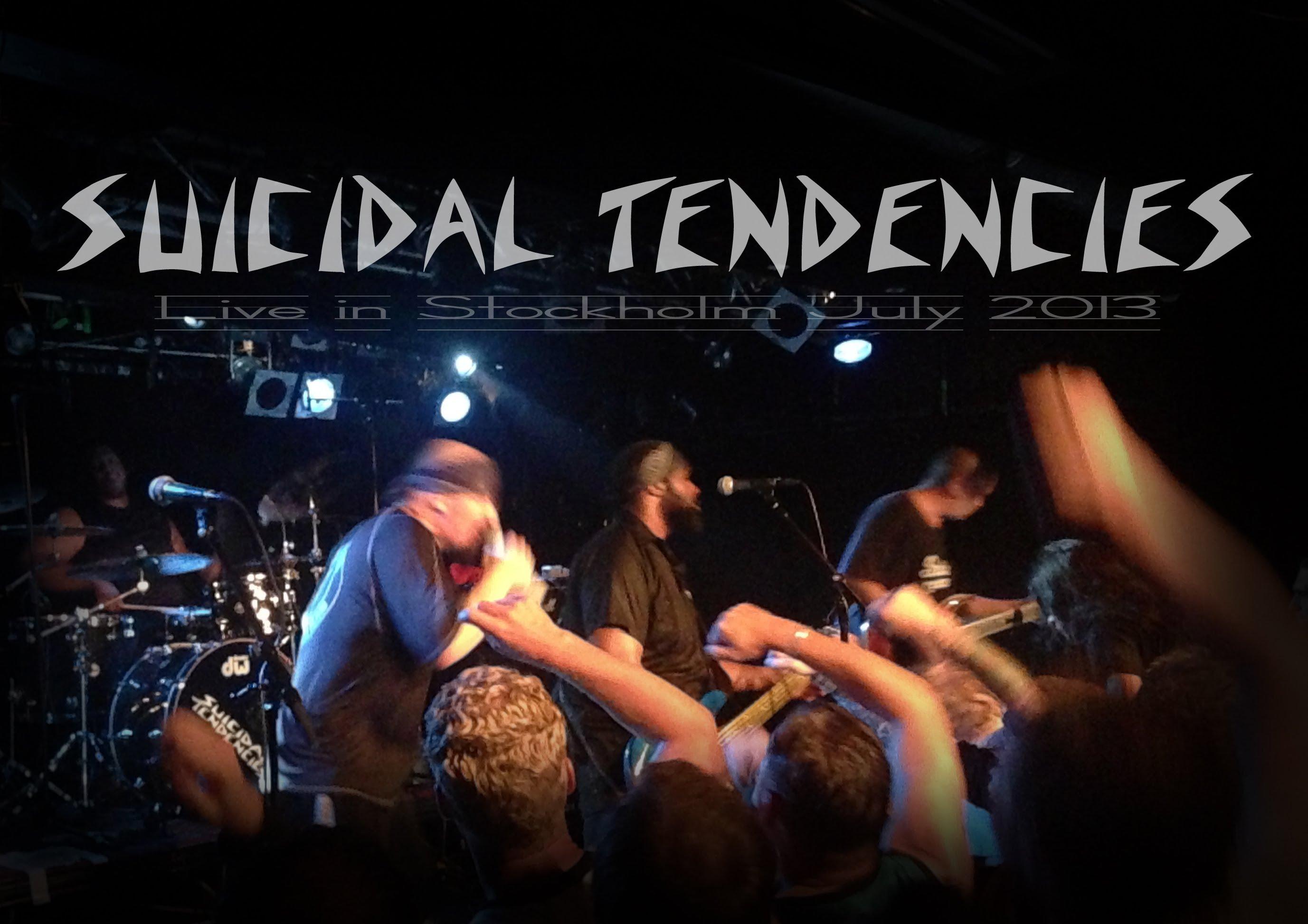 SUICIDAL TENDENCIES Thrash Metal Heavy Poster Concert F Wallpaper 2754x1946