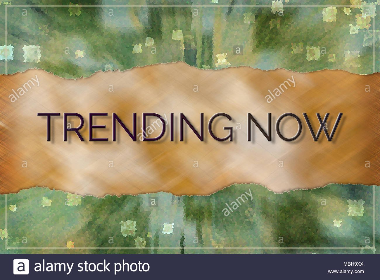 Trending now business conceptual with colorful background for 1300x956